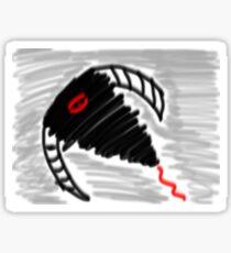 Cyclone Demon Sticker
