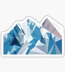 Pegatina Montaña