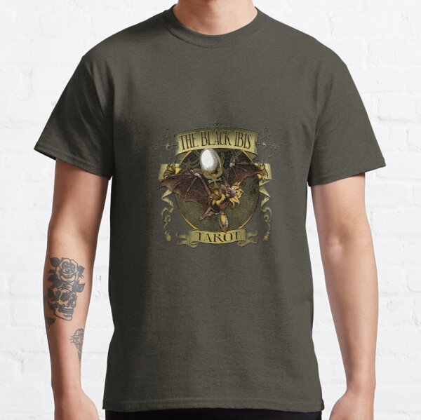 Black Ibis Bat Queen Tee Shirt Design Classic T-Shirt