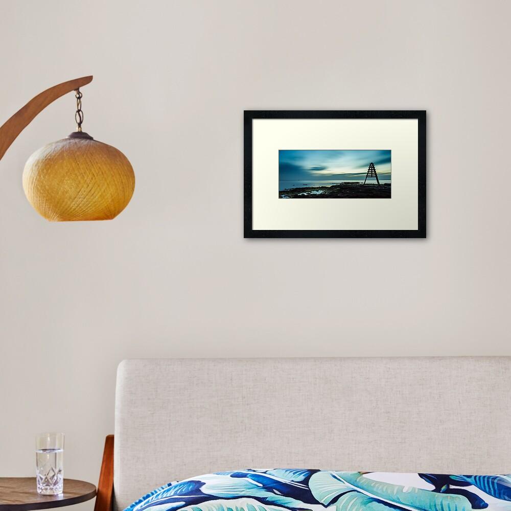 Rickett's Point Beaumaris Framed Art Print