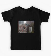 Faneuil Hall from the Freedom Trail Kids Tee