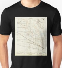 USGS TOPO Map California CA Oxalis 296389 1922 31680 geo Unisex T-Shirt