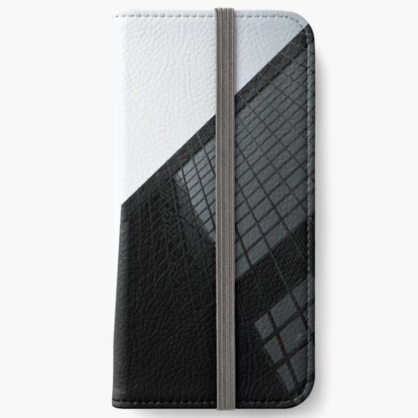 Polygonal Perspective iPhone Wallet