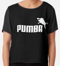 Pumba Logo Chiffon Top