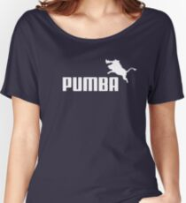 Pumba Logo Women's Relaxed Fit T-Shirt