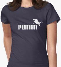 Pumba Logo Women's Fitted T-Shirt