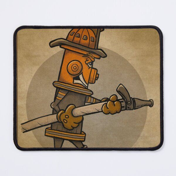 Nozzleman - Hero Hydrants Mouse Pad