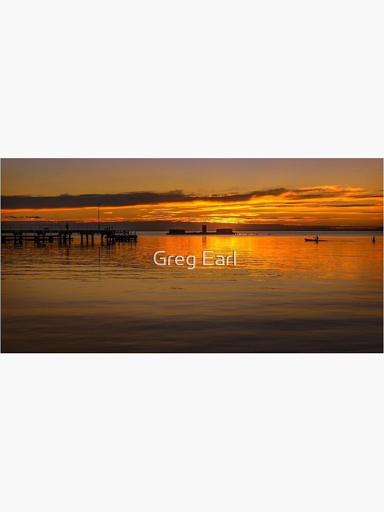 Winter Sunset - Half Moon Bay by GregEarl
