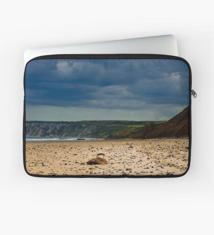 Hunmanby Gap, North Yorkshire Laptop Sleeve