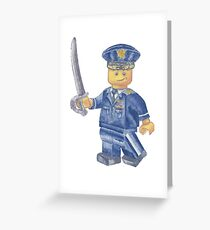 Toy US Air Force Major Greeting Card