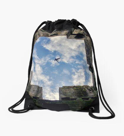 Flight To Freedom Drawstring Bag