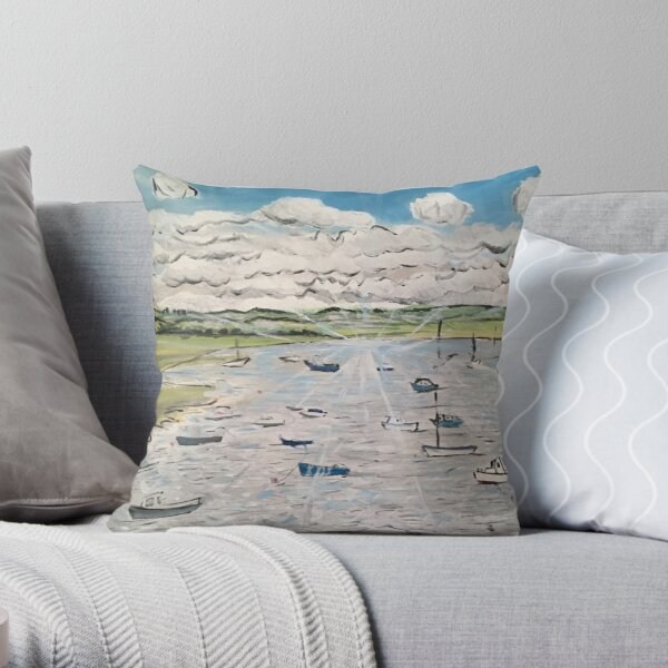 Calm, Peace, Tranquility Throw Pillow