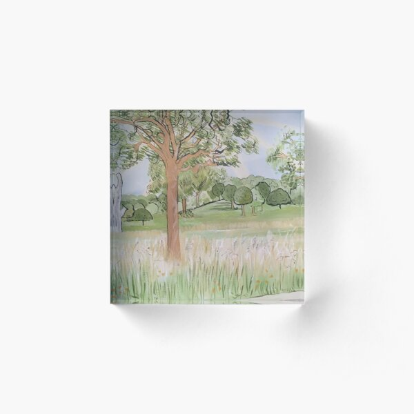 In Persuit Of The Pastoral Acrylic Block