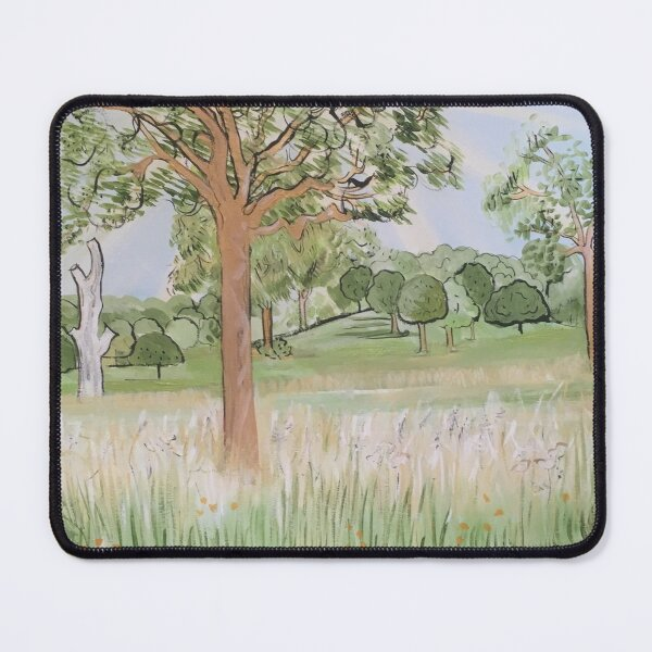 In Persuit Of The Pastoral Mouse Pad