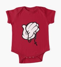 Funny praying hands One Piece - Short Sleeve