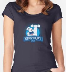 Stay Puft!  Women's Fitted Scoop T-Shirt