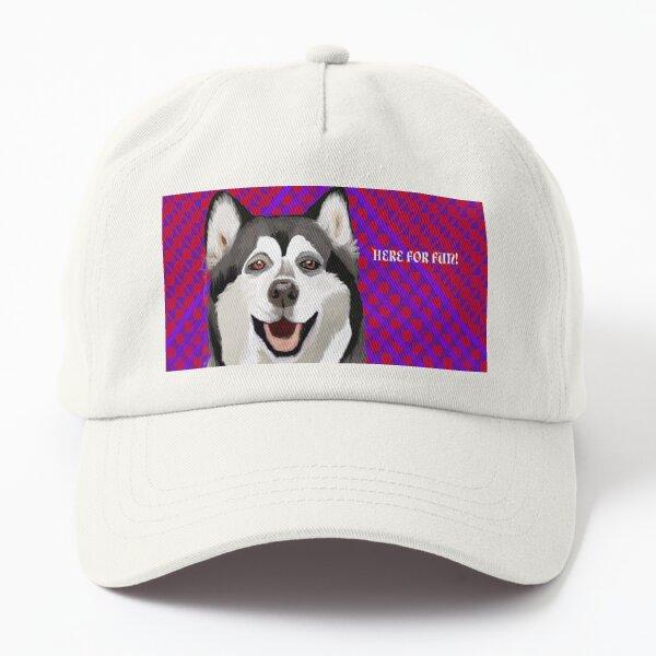 Fun-Loving Husky Dad Hat