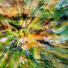 Leaf Abstract 2 by Rebecca Cozart