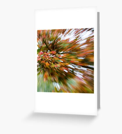 Leaf Abstract 3 Greeting Card