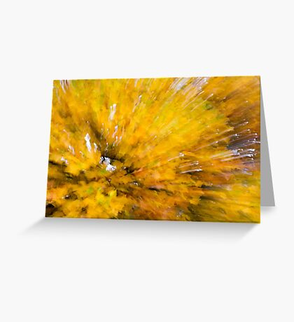 Leaf Abstract 4 Greeting Card