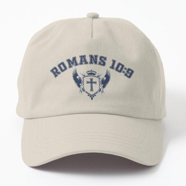 Romans 10:9 College Style Shirt Dad Hat
