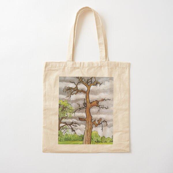 The Lightning Tree Cotton Tote Bag