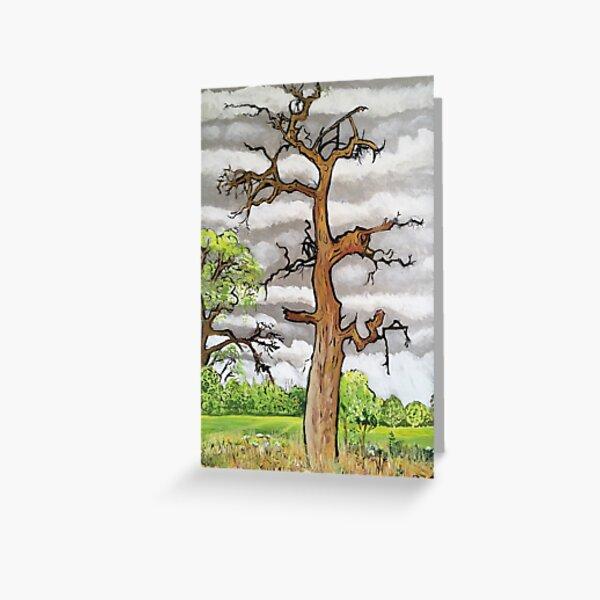 The Lightning Tree Greeting Card