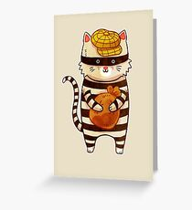 Catburglar Greeting Card
