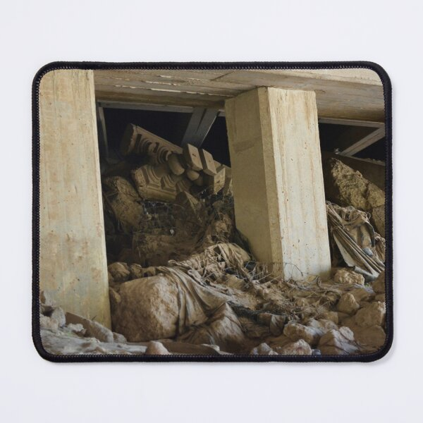 Crumbling City Mouse Pad