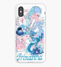 Starter's family: Primarina iPhone Case/Skin