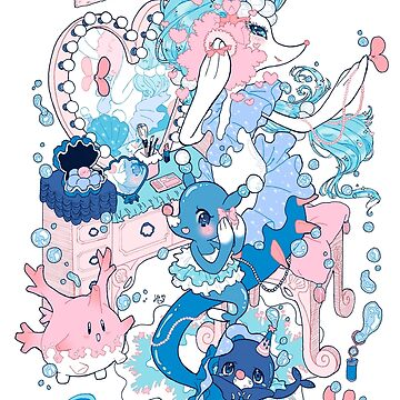 Starter's family: Primarina by hinimochi
