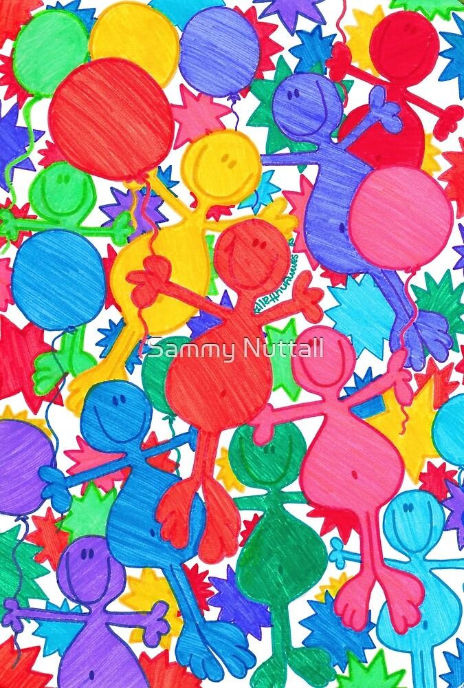 One Balloon Each... by Sammy Nuttall