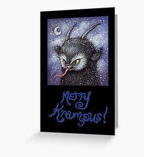 Merry Krampus 2 Greeting Card