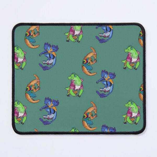 Cute Dinosaur Friends Mouse Pad