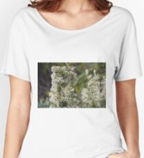 White Grevillea 2 Women's Relaxed Fit T-Shirt