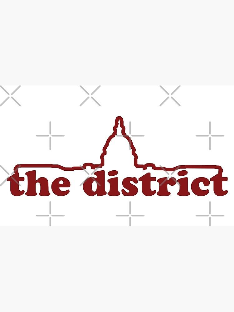 Washington DC-Linie Logo - Hauptstadt von MayhemDesigns