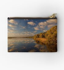 Reflections on the lake  Studio Pouch