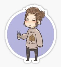 Fall Bucky Sticker