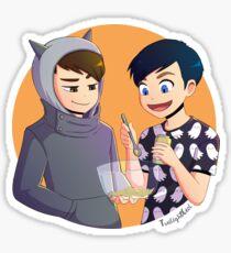 Halloween Baking Sticker