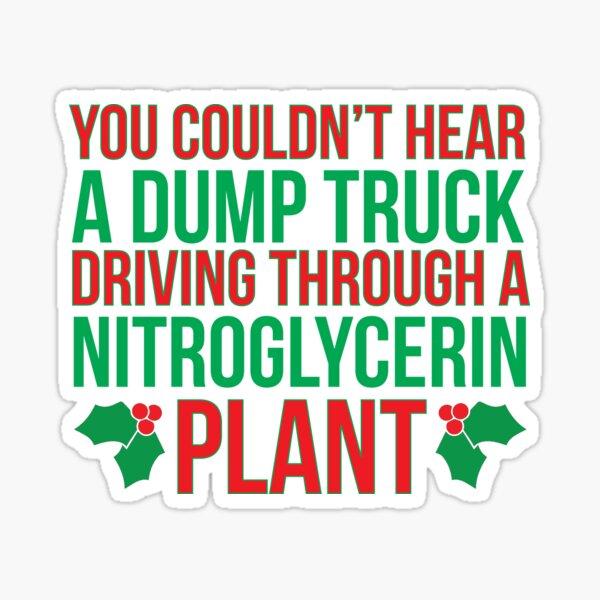 Nitroglycerin Plant Sticker