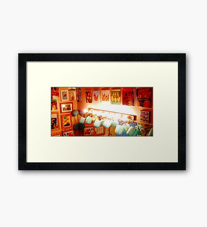 A Slice Of Duck Palace Framed Print
