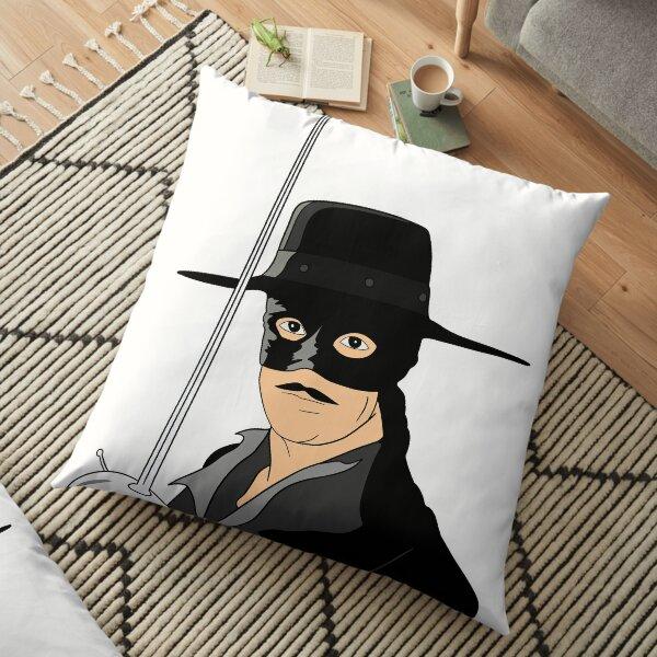 Zorro fan art design  Floor Pillow