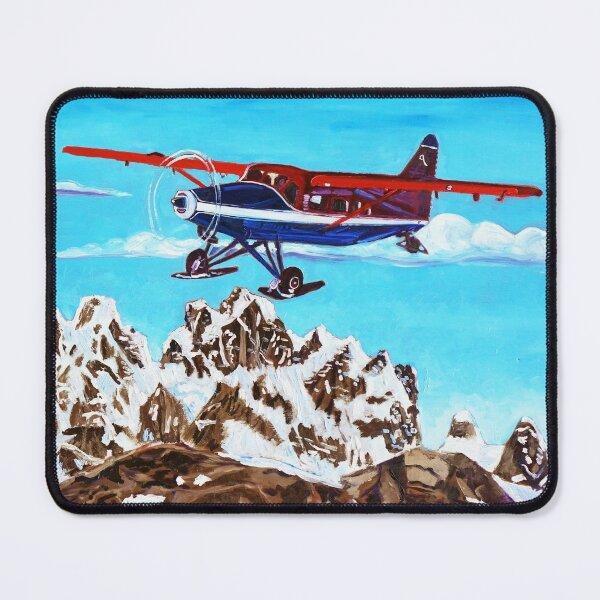 Ruth Glacier Landing Mouse Pad