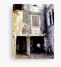 Engaged With History, Photo / Digital Painting  Canvas Print