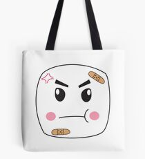 Melvin the Angry Marshmallow Tote Bag