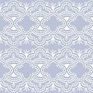 Scallop Lace Mist Mirrored by ThistleandFox