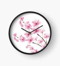 Sakura Cherry Blossom Clock