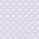 Bamboo Leaf Cream on Lilac by ThistleandFox