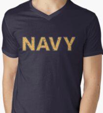 Distressed NAVY  T-Shirt