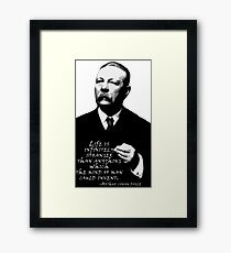Life is Inifinitely Stranger Framed Print